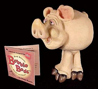 Russ Bobble Bods Prudence Pig by Doug Harris 24293 Head Collectible Figurine