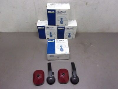 Four Pairs of 3M Hard Hat Attached Earmuffs-Model 2000H