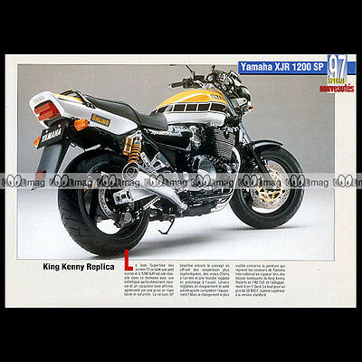 YAMAHA XJR 1200 SP 1997 'King Kenny Roberts Replica' - Fiche Moto MJ #106