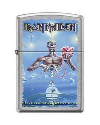 "Zippo ""Iron Maiden"" Street Chrome Finish Lighter, Full Size,  3379"