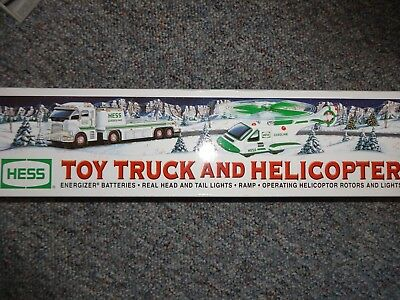 Hess Toy Truck And Helicopter 2006 *new*
