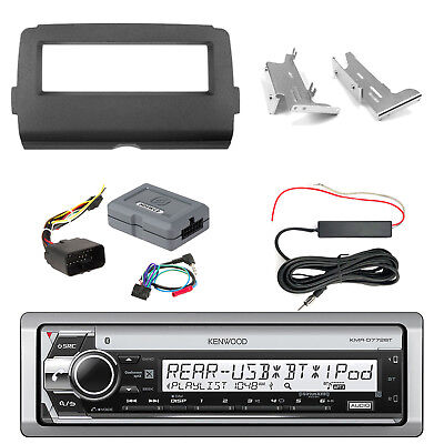 KMRD772BT CD Radio + Kit, Handle Bar Controls, Antenna Kit (2014-Up Harley)