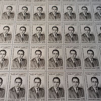 Morocco Morocco Pa N°106 Sheet Sheet 50 Neuf Luxe Mnh Value