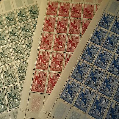 Morocco Morocco N°421/423 Sheet Sheet 25 Neuf Luxe Mnh Value