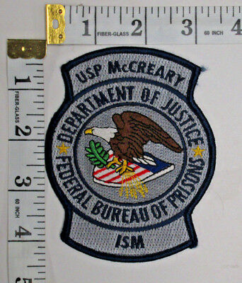 Penitentiary Mccreary Kentucky Shoulder Patch