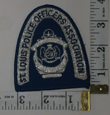 St Louis Missouri Police Officers Association Shoulder Patch