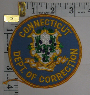 Connecticut Department Of Corrections Shoulder Patch