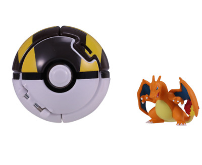Lizardon, Takara Tomy Pokemon Moncolle Hyper Ball Pokedel-Z, toys figures