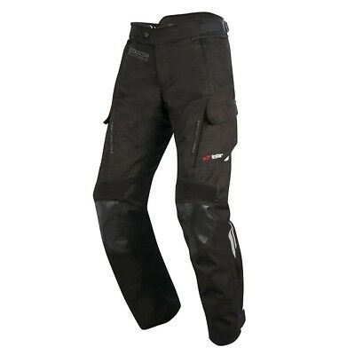Alpinestars Andes Drystar v2 Motorcycle Motorbike CE Pants Trousers - Black