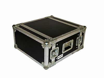 deetech 5 HE Flightcase / Effektcase / Flight Rack / Double Door Case 9 mm