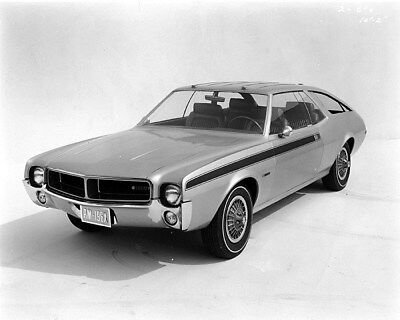 1967 AMC AMX III Concept Factory Photo ca9704