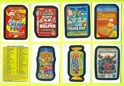 COMPLETE 2014 Topps Wacky Packages All-New Series 12 55 CARD SET