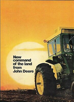 1971 John Deere New 4320 Tractor Ad New Command Of The Land