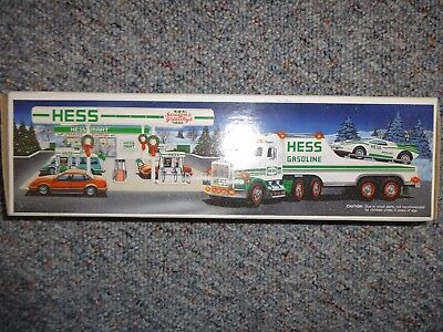 Hess Toy Truck And Racer 1991 *new*