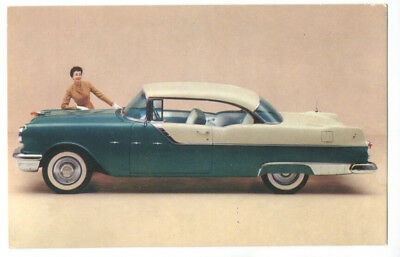 1955 PONTIAC STAR CHIEF CATALINA - Original Issue Postcard