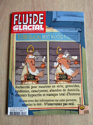 Revue  Fluide Glacial  N° 503  Avril 2018  /  Most Wanted Fugitive