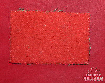 WW2 1st Canadian Divisional Cloth Formation Flash  (inv11920)