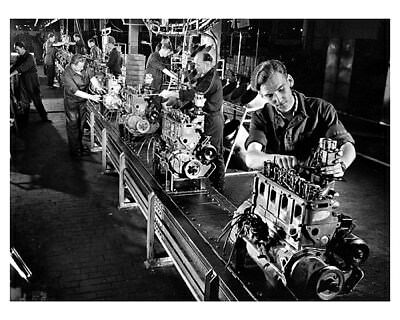 1951 Opel Assembly Worker Factory Photo ca9746