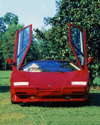 1989 Lamborghini Countach 25th Anniversary Factory Photo ca9754
