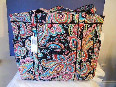 Vera Bradley Get Carried Away Tote Extra Large Bag Quilted retired fabrics 15873