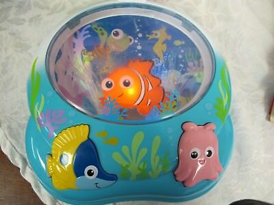 Fisher Price Nemo's Soothing Sea Soother Disney Baby Musical Lighted Sound