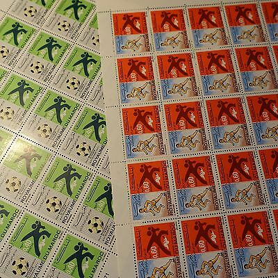 Morocco Morocco N°625/626 Sheet Sheet 25 Neuf Luxe Mnh Value