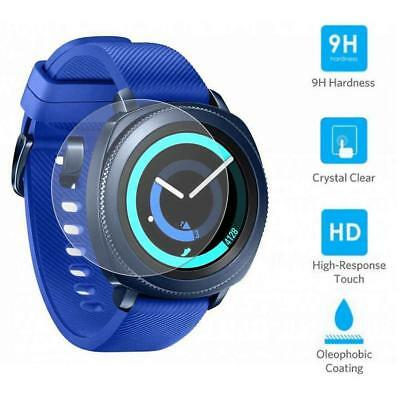 2pcs 9H Tempered Glass Screen Protector Film for Samsung Gear Sport S4 Watch