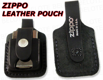 Zippo Pouch With Thumb Notch &  Loop LPTBK  ACCESSORIES