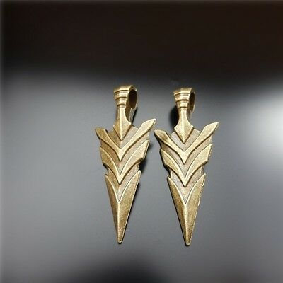 20pcs Antiqued Bronze Alloy Big Arrow Jewelry Making Charms Pendant Findings