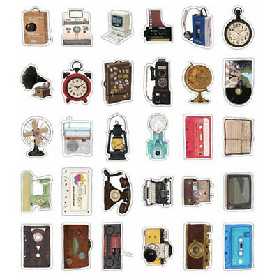 30pcs/Lot Vintage Irregular Shape Postcards - Retro Home appliance - Cards Set
