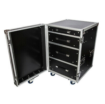Road Case Ply Pro 4 Drawer