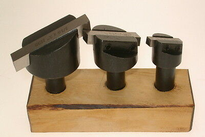 Set Of Flycutters - Lathe Or Milling Machine Fly Cutters From Chronos