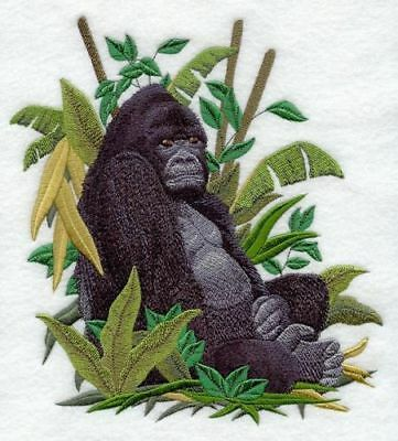 Embroidered Fleece Jacket - Mountain Gorilla C8178 Sizes S - XXL