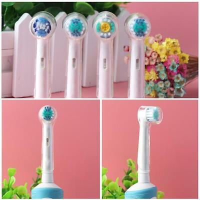 4Pcs/Pack Oral-B Brush Head Protection Cover For Electric Toothbrush H