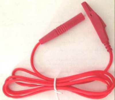 New! Ionithermie Red Wire Lead For MIT Machine For Cellulite Treatments x 1 Only