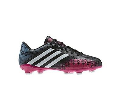 b312f00641d WOMEN S ADIDAS P Absolado LZ TRX FG Soccer Cleats - Black Pink Blue ...