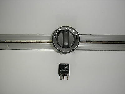 Holden Commodore Vy Vz Ss Fog Head Light Switch Calais Grey With Relay New