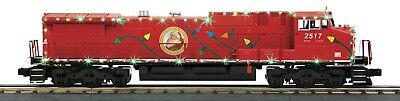 MTH 30-20436-1, Dash-8 Diesel Engine w/ Proto-Sound 3.0 And LED Christmas Lights