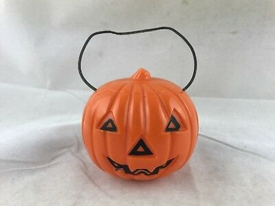 Vintage Union Prods Halloween Decoration Jack O Lantern Light Eyes Pumpkin WORKS