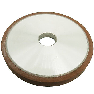 US Stock 125mm Diamond Grinding Wheel Flat 150 Grit Cutter For Carbide Metal