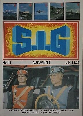 S.I.G Supermarionation is Go Magazine Thunderbirds - no 11 - Autumn 1984