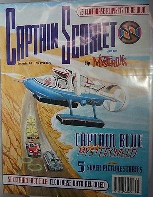 Captain Scarlet - The Comic. No 4.December 1993. ITC