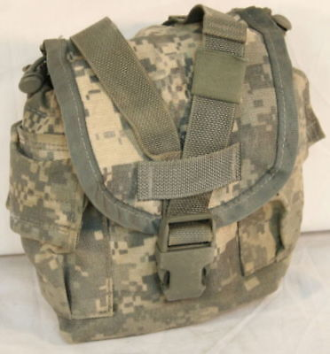US Military 1 QT MOLLE ACU CANTEEN COVER Utility Pouch GOOD