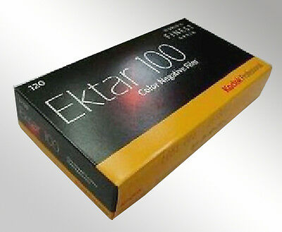5 Rolls KODAK EKTAR 100iso 120 Color Print Medium Format Film 2021 Fresh
