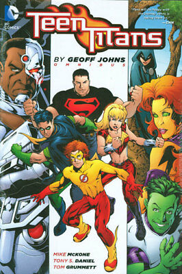 TEEN TITANS OMNIBUS HARDCOVER by Geoff Johns DC Comics HC 1440 PAGES! SRP $150