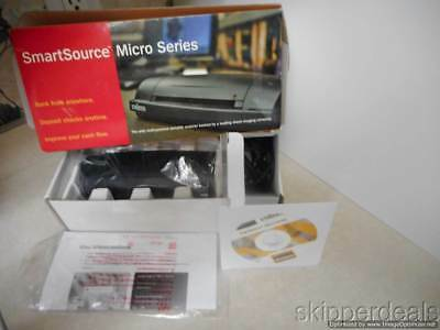 CHECK SCANNER UNISYS Smartsource Micro Series Ssm1-Pkg Brand New