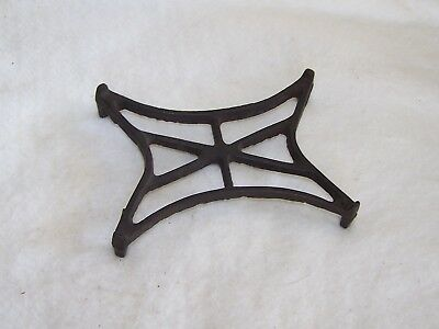 Antique Cast Iron Trivet Unique