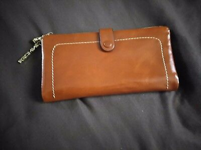 Genuine Leather Wallet Made In Germany Deep Tan Genuine Leather