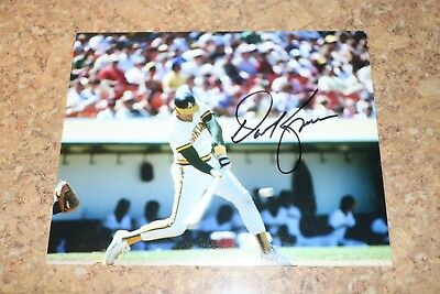 Dave Kingman 8x10 Signed Color Photo Oakland A/'s Free Shipping