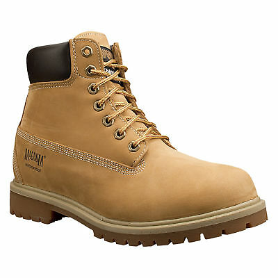 """Magnum Work Foreman 6"""" Insulated Waterproof Leather Boots - 7817"""